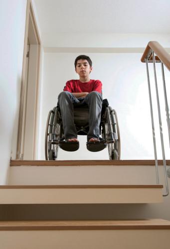Wheelchair-Stairs