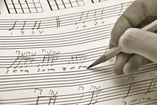shutterstock_writing music_Duo